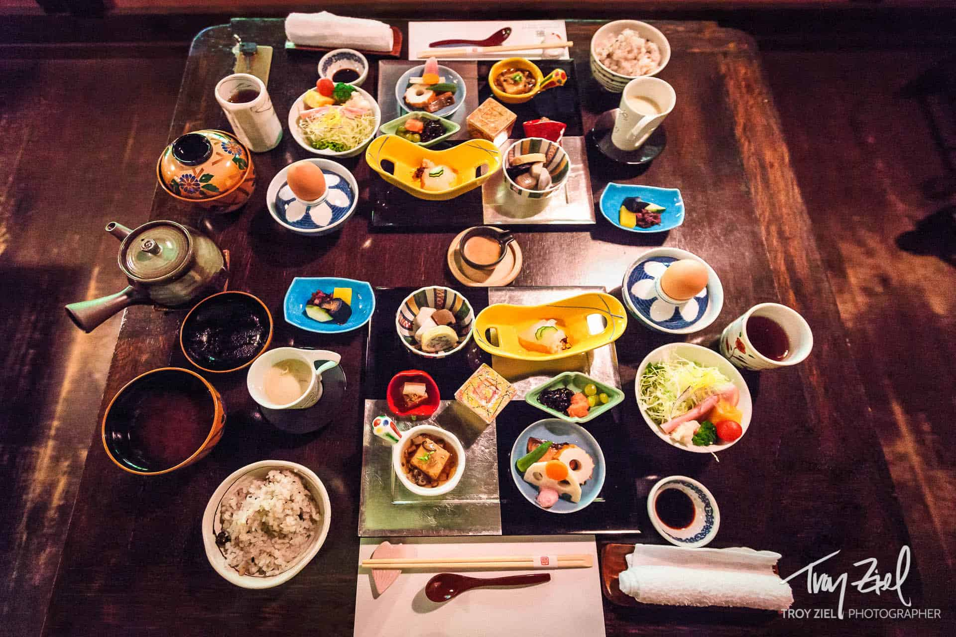 An Artful Japanese Onsen Breakfast