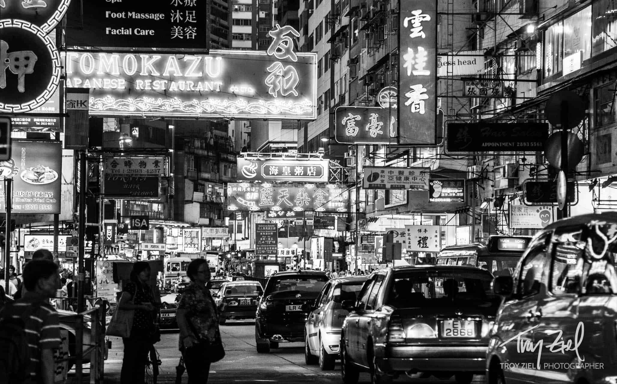 HongKongNeonLights - by Troy Ziel