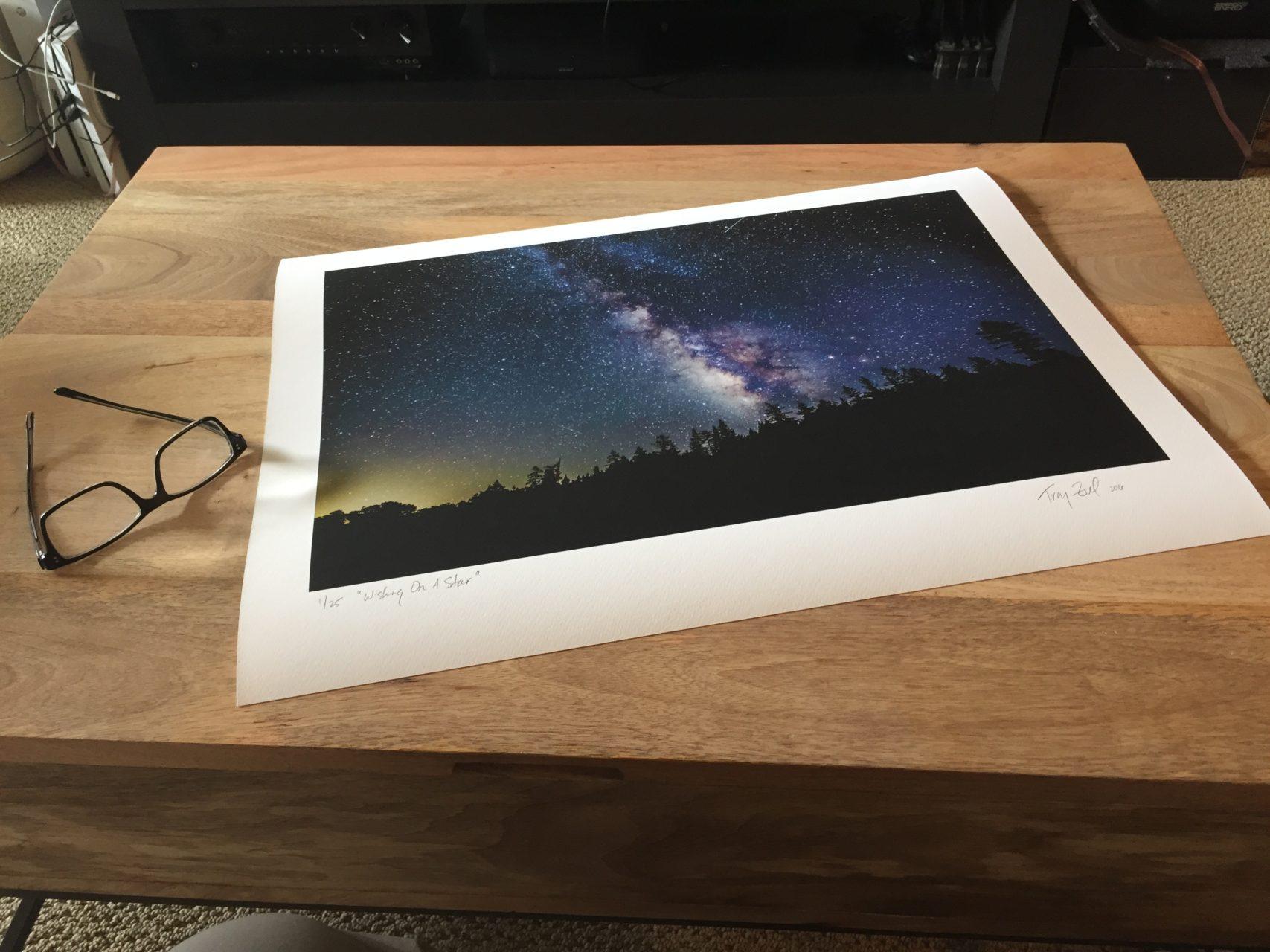 Signed Print