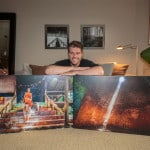Museum Gallery Canvas Wrap by Troy Ziel