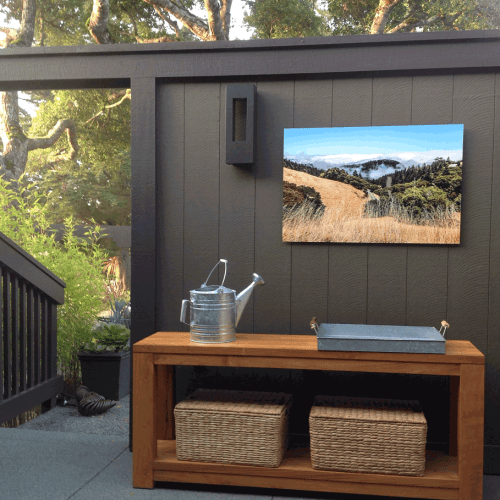 Troy Ziel Photography Commission, Metal Print, Marin, California
